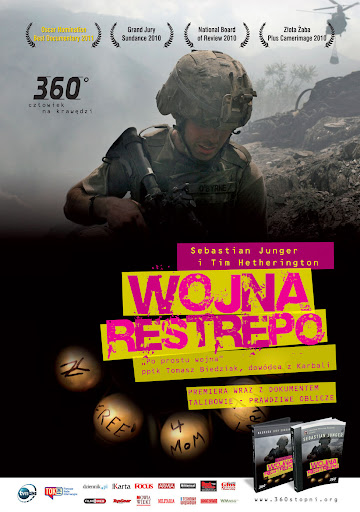 Polski plakat filmu 'Wojna Restrepo'