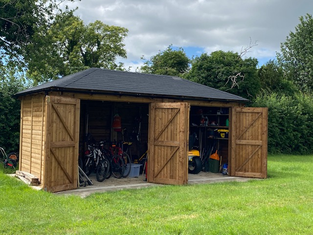 By choosing a timber carport or garage, rather than a brick or concrete one, you can be sure it fits into the aesthetics of your garden.