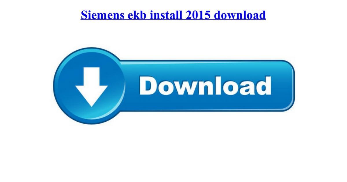 Скачать ekb install 2016