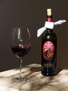Sangiovese wine.