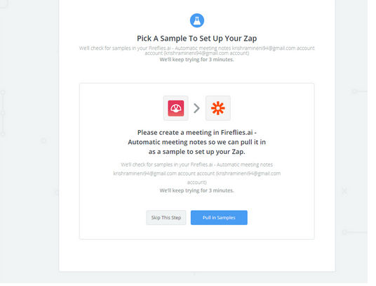 Create Fireflies and Zapier 'Zaps' to get the best out of the tool