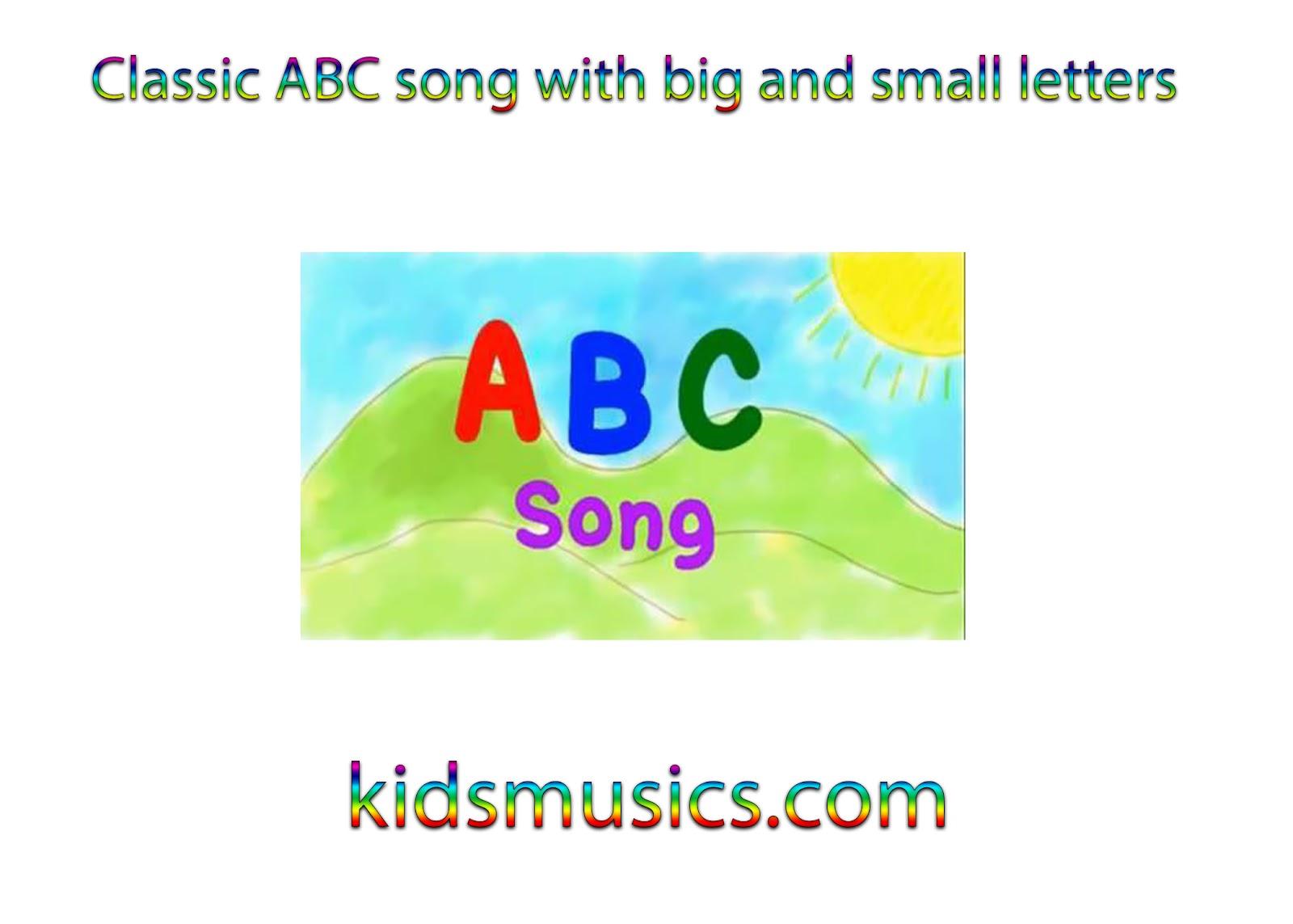 Alphabet Letter Song