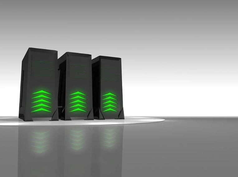 Serverfarmen sorgen für schnelle Downloads