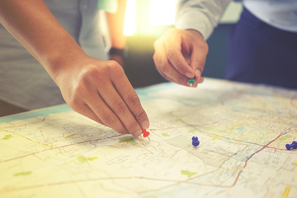 O planejamento urbano permite que se estabeleçam quais são os problemas mais urgentes e priorizá-los. (Fonte: Shutterstock)