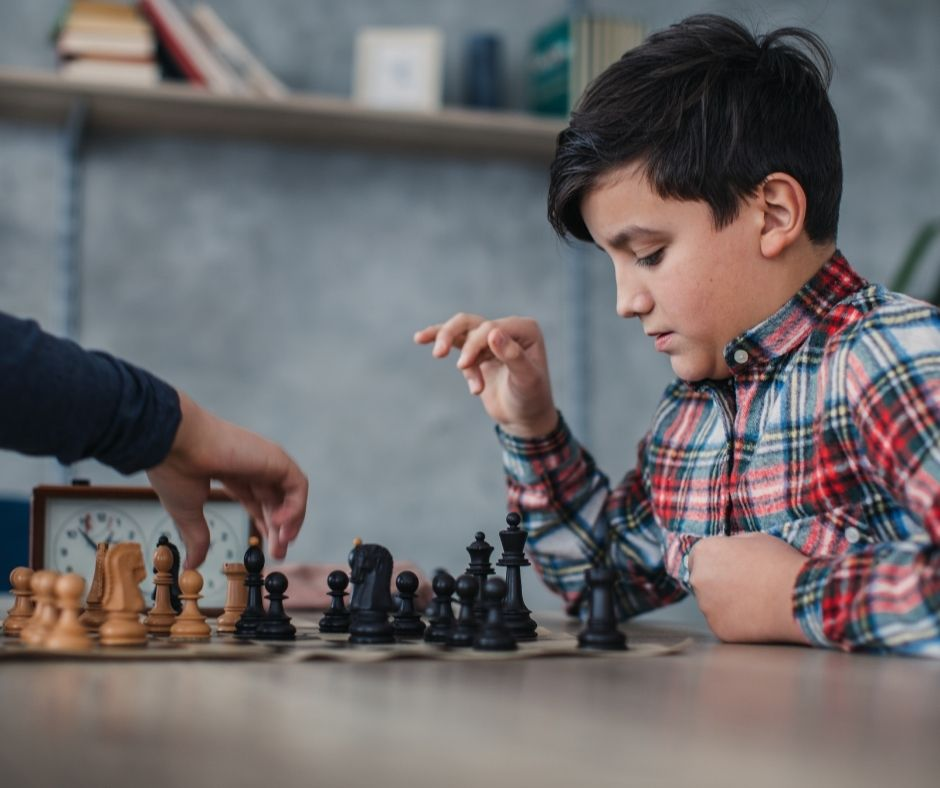 Online chess course for kids