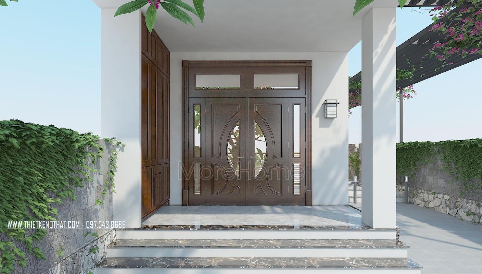Các mẫu cửa gỗ tự nhiên hiện đại – tân cổ điển bán chạy nhất 2018
