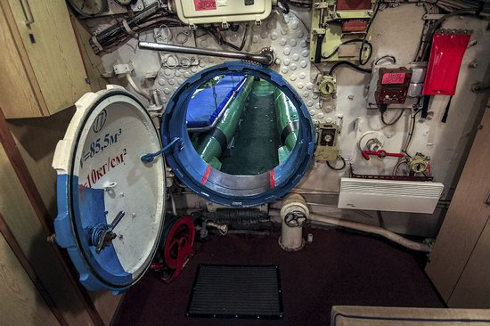Soviet submarine-museum in St. Petersburg, Russia, photo 22
