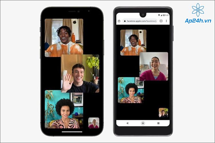 LG Stylo 6 đặt cạnh iPhone