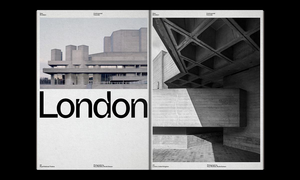 Editorial Design : New Brutalism Controversial Concrete 28