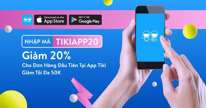 Mã giảm giá Tiki App là mã đặc biệt chỉ dùng được tại ứng dụng Tiki trên điện thoại