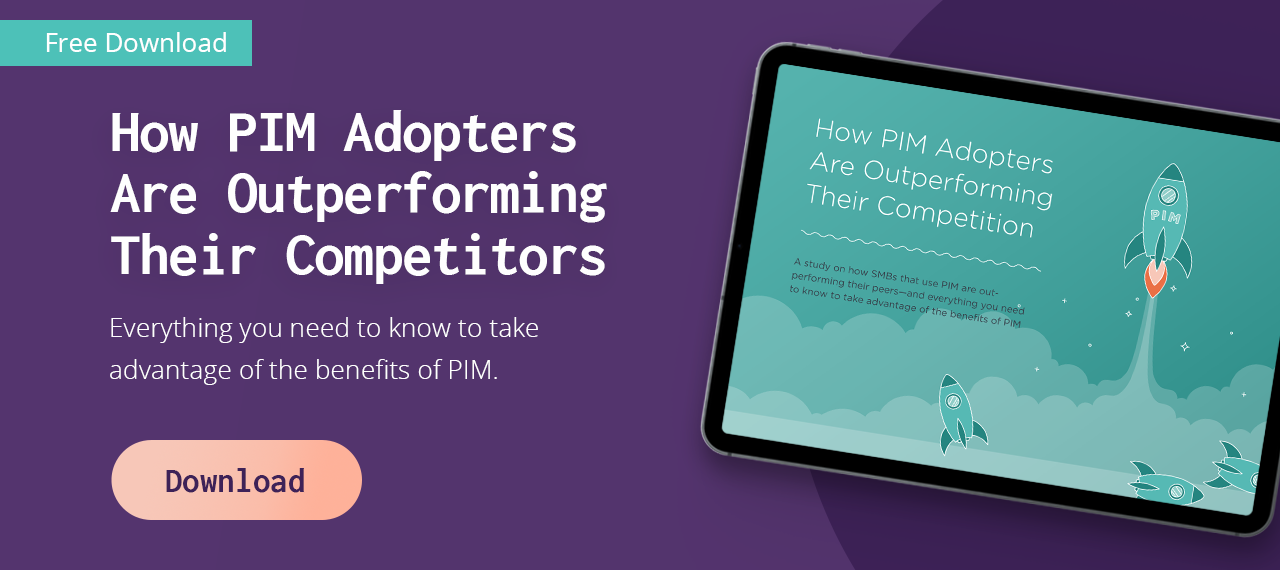 PIM Adopters Outperforming Competitors