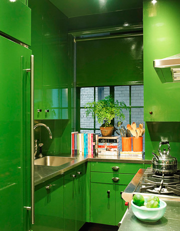 Green with Kitchen Envy!