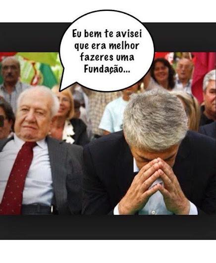 Cartoons - Mário Soares e a prisão de José Sócrates