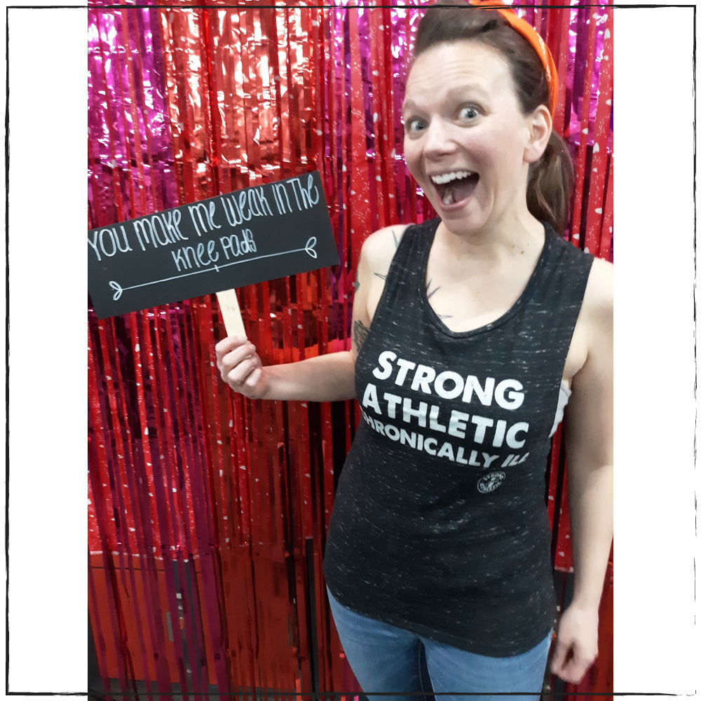 Strong Athletic Chronically Ill, MS Athlete Diane Kramer