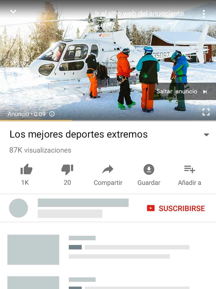 campañas vídeo