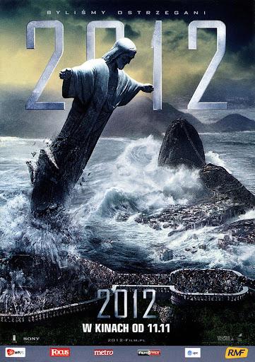 Przód ulotki filmu '2012'