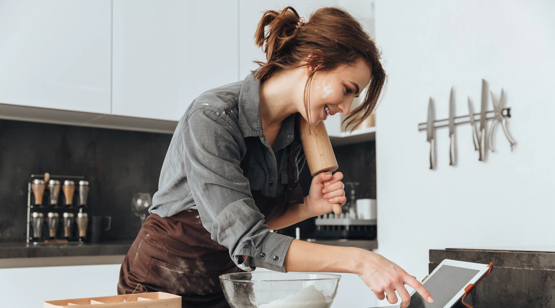 managing stress with cooking image
