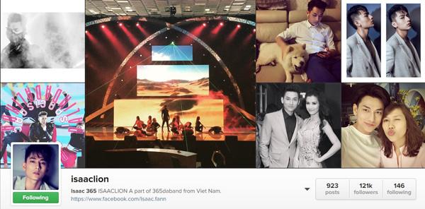 Top 5 sao Việt có lượng follow nhiều nhất trên instagram9