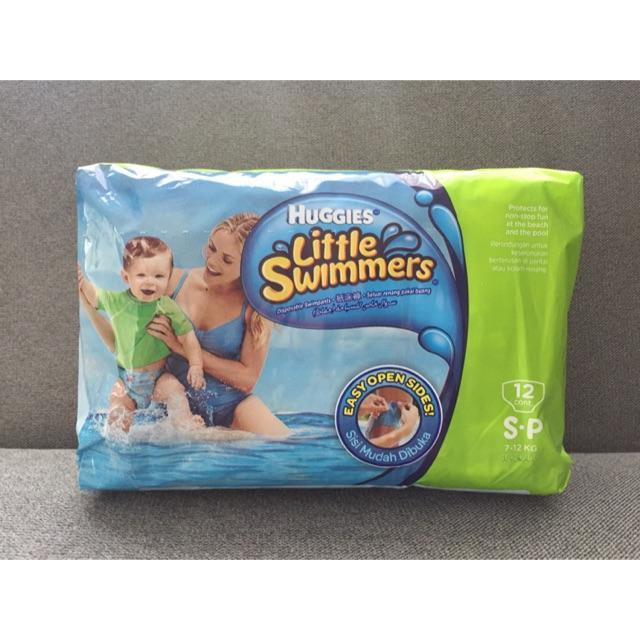 6. Huggies ผ้าอ้อมสำเร็จรูป รุ่น Little Swimmers