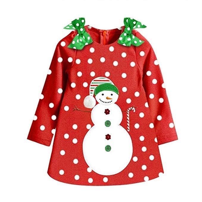 Sukienka swiateczna mikołajka dla dziewczynki - Sukienka dla dziewczynki na swieta  15