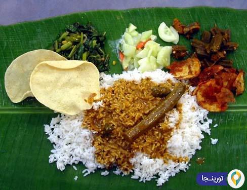 برنج برگ موز مالزی