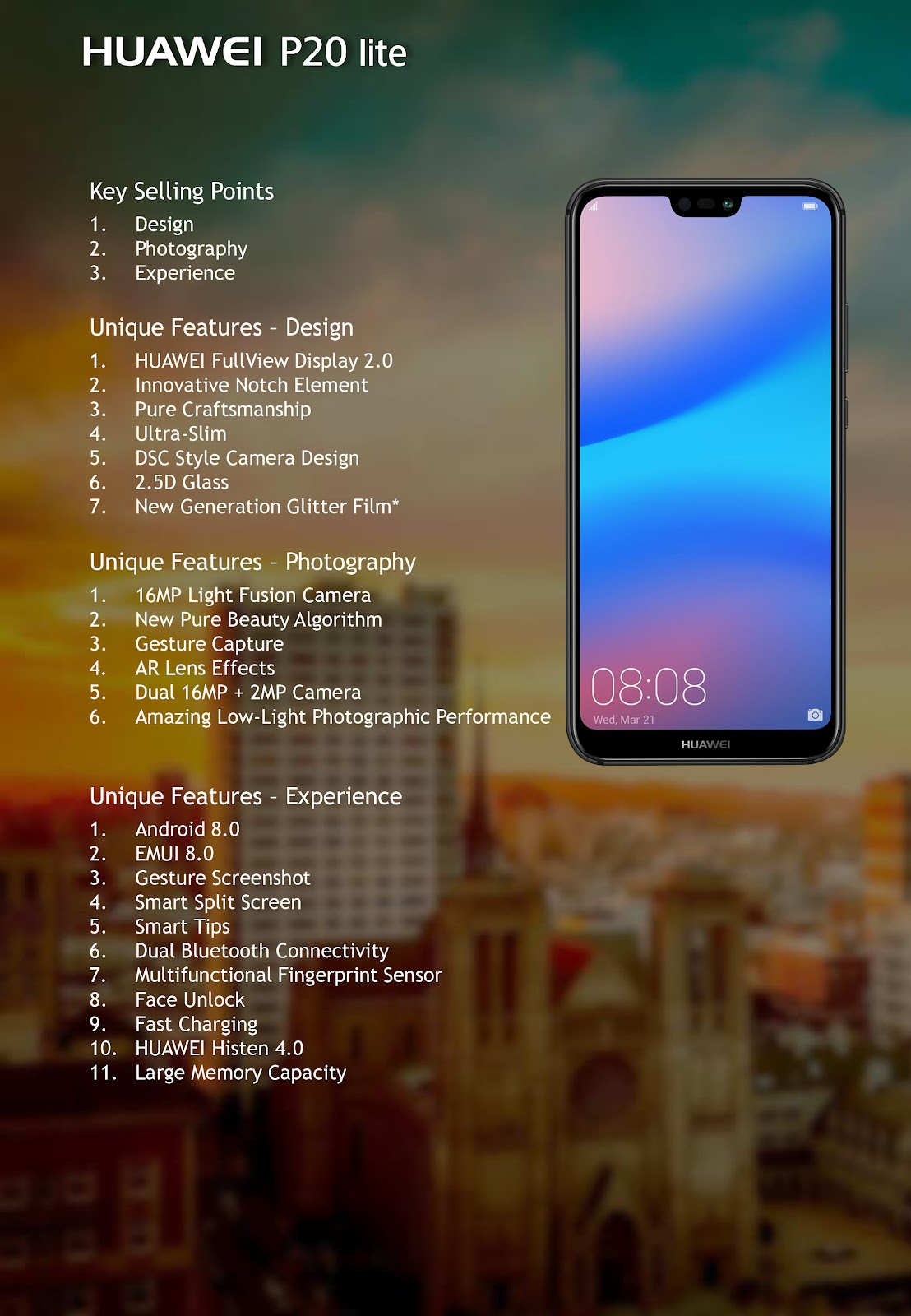 Huawei P20 Lite Price - My Own Email