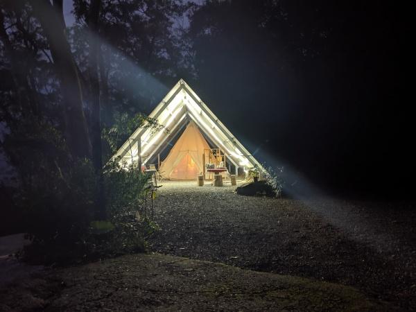 免裝備露營-南投信義-山裡的嵐卡