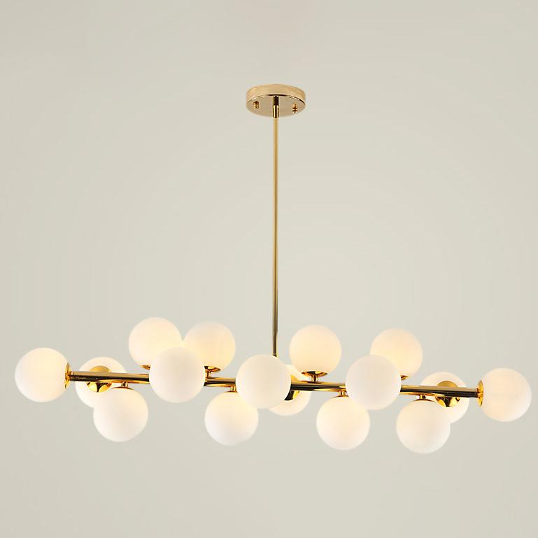 Đèn chùm trang trí 16 bóng giúp tô điểm không gian căn nhà thêm sang trọng