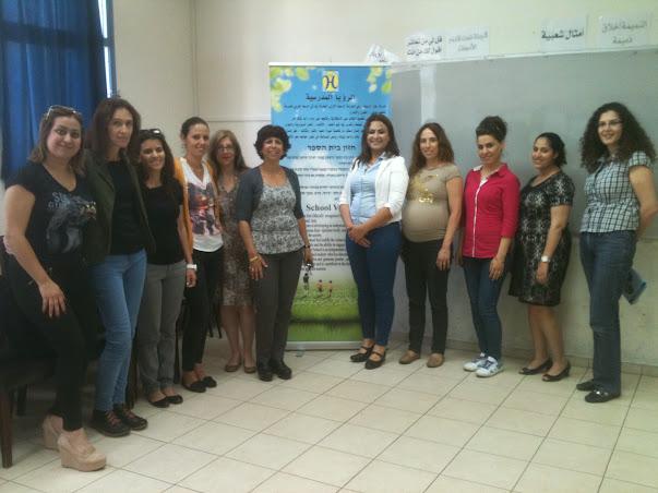 סיור בביה״ס חיוואר בחיפה
