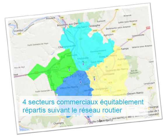 routefinder mapinfo sectorisation