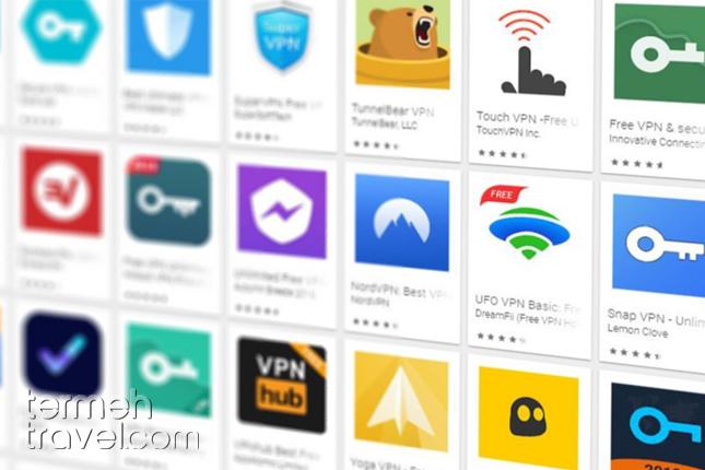 Downloading VPN application- Termeh Travel