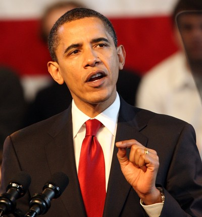 obama in red tie