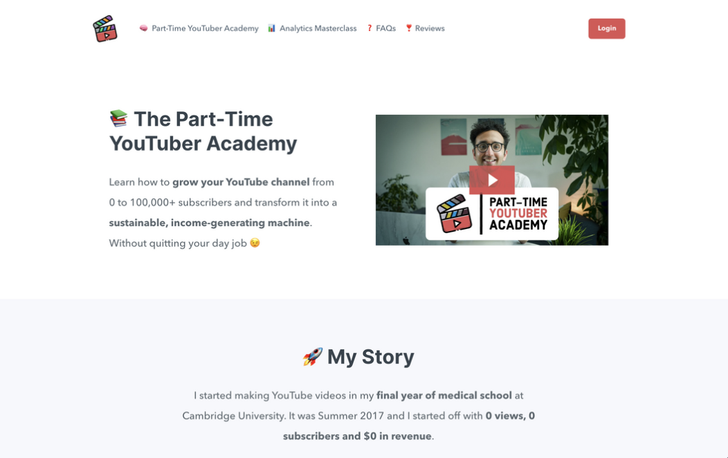 The Part-Time YouTuber Academy