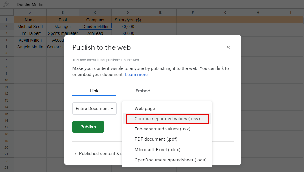 Try Ninja Tables to embed Google Sheets into WordPress tables