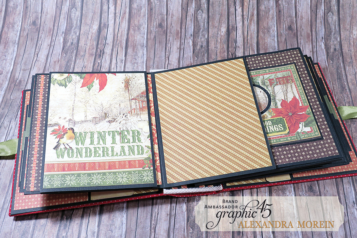 Winter Wonderland Mini Album, Project by Alexandra Morein, Product by Graphic 45, Photo 11.jpg