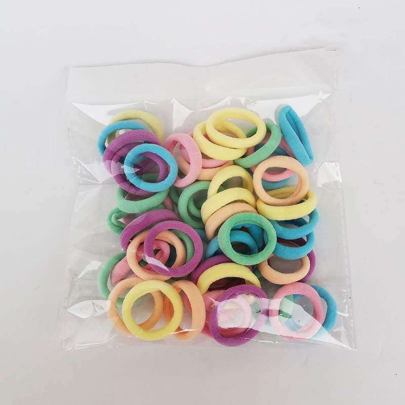 Colorful Mini Hair Ties for Children