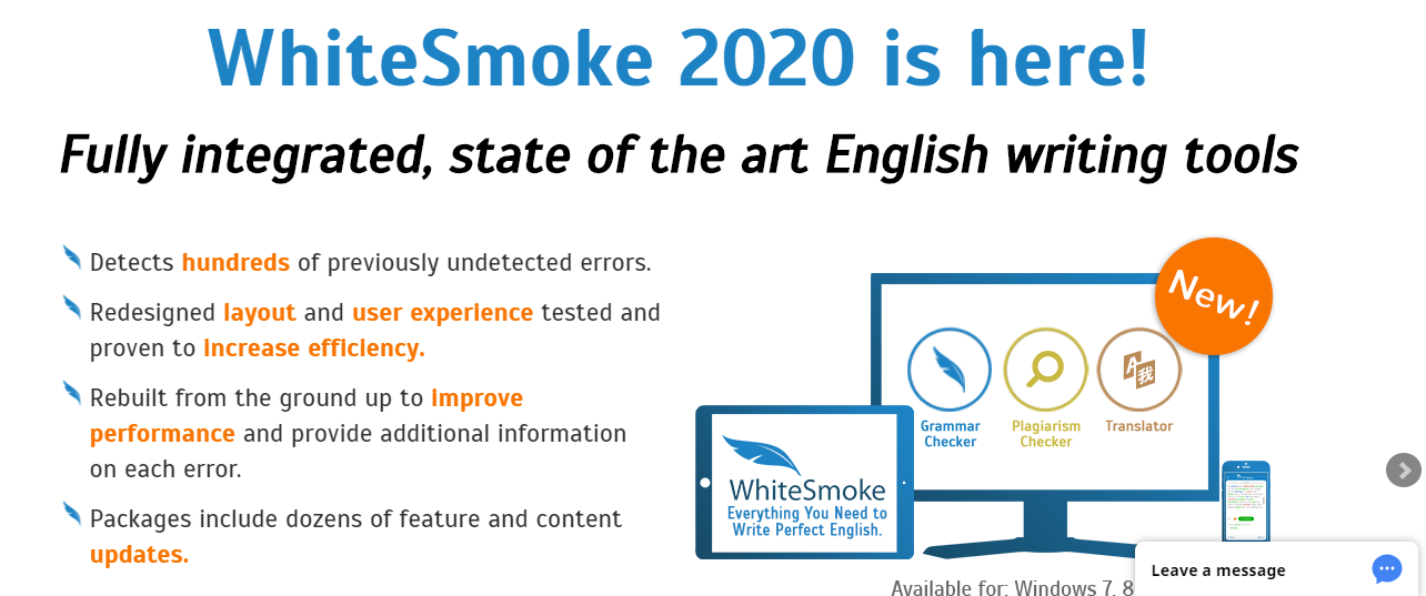 Whitesmoke homepage