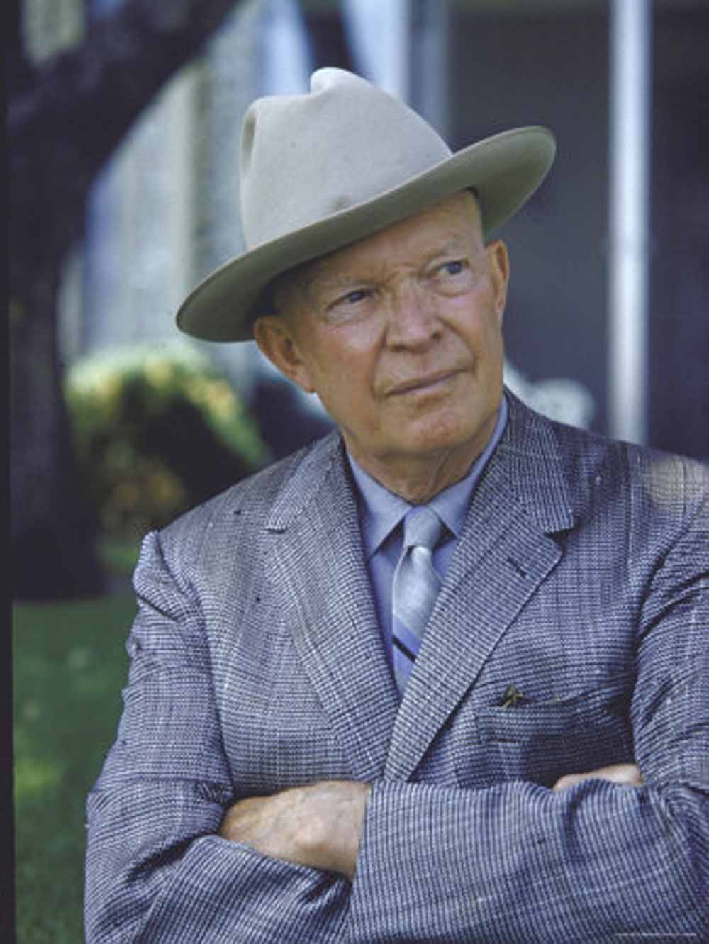Image result for eisenhower in a hat