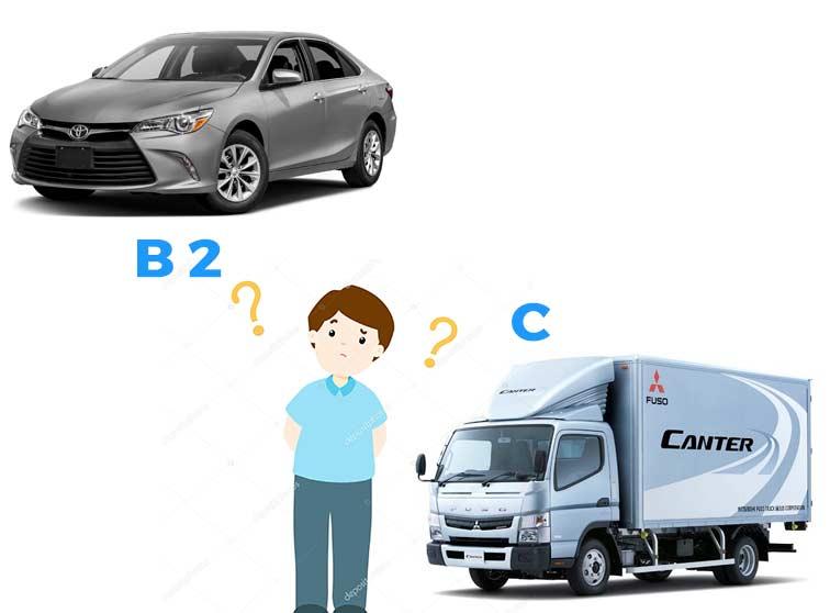 Lý do bạn nên đăng ký học bằng lái xe B2
