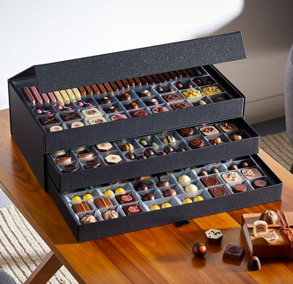 hotel chocolat chocolate cabinet