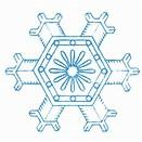 Image result for free winter snowflakes clip art
