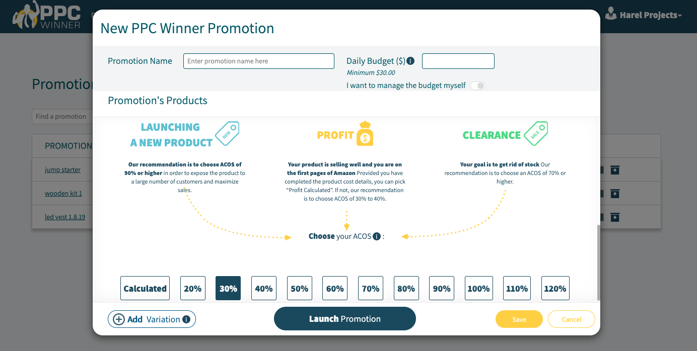 PPC Winner Review - Launching Promotion