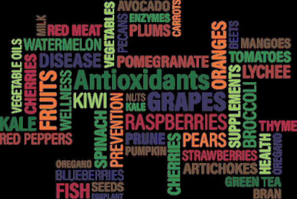 Free photo Concept Oxidants Cloud Fruit Word Antioxidants - Max Pixel