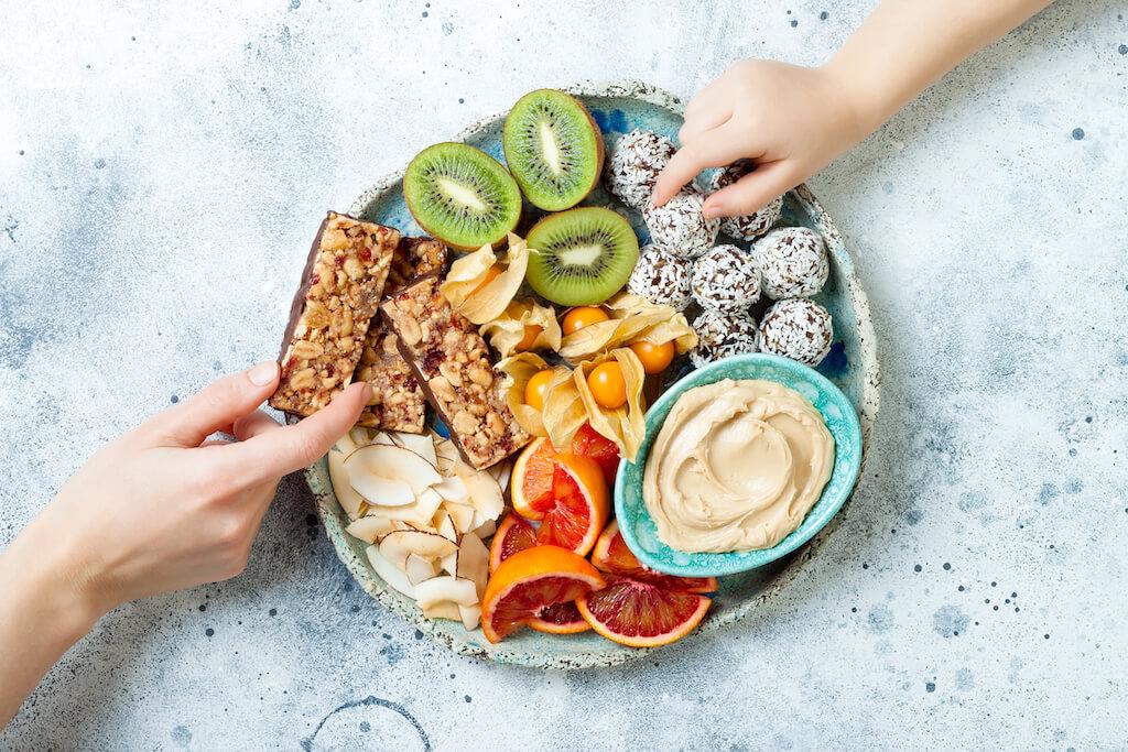 Keep healthy snacks on hand
