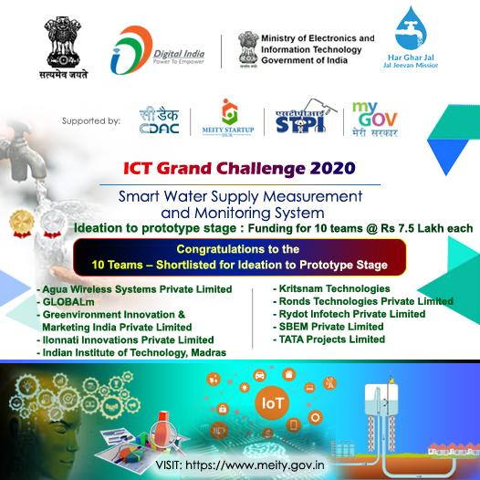 "NJJM Announced Grand Challenge for ""Smart Water Supply Measurement and Monitoring System"""