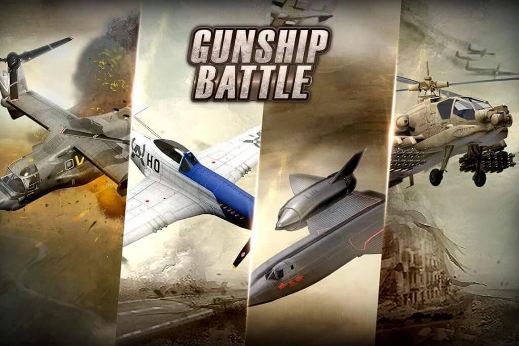 معلومات موجزة عن لعبة   GUNSHIP BATTLE Helicopter 3D.