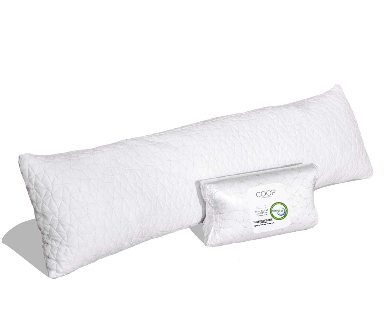 Coop Home Goods, Shredded Memory Foam Body Pillow