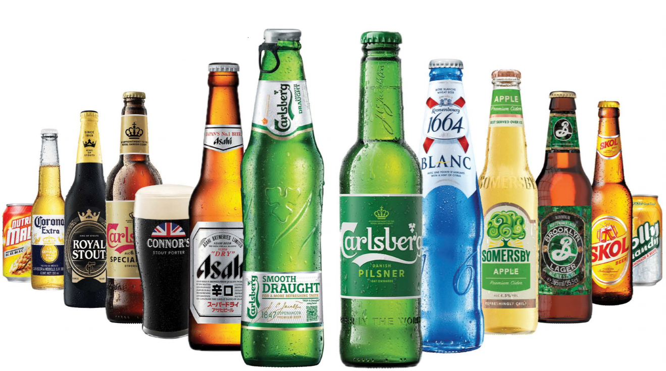 Carlsberg Brewery Malaysia Berhad Brands