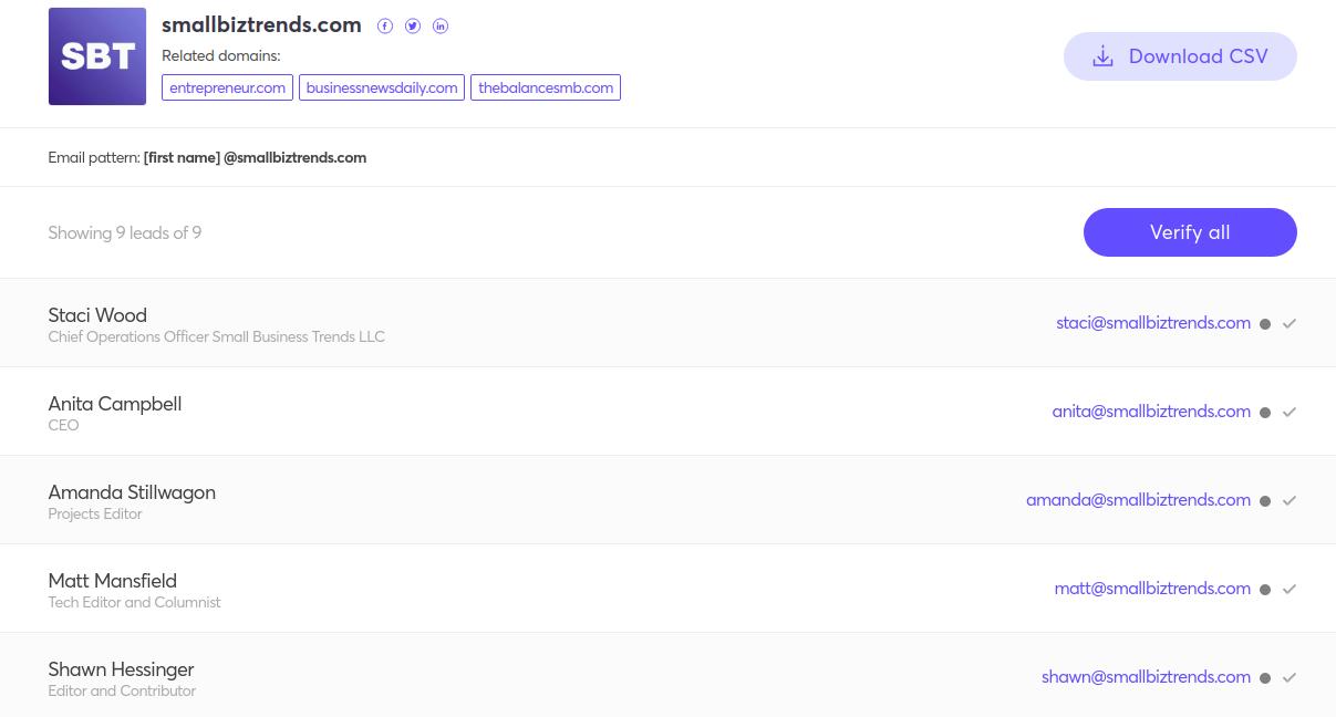 Link Building Emails