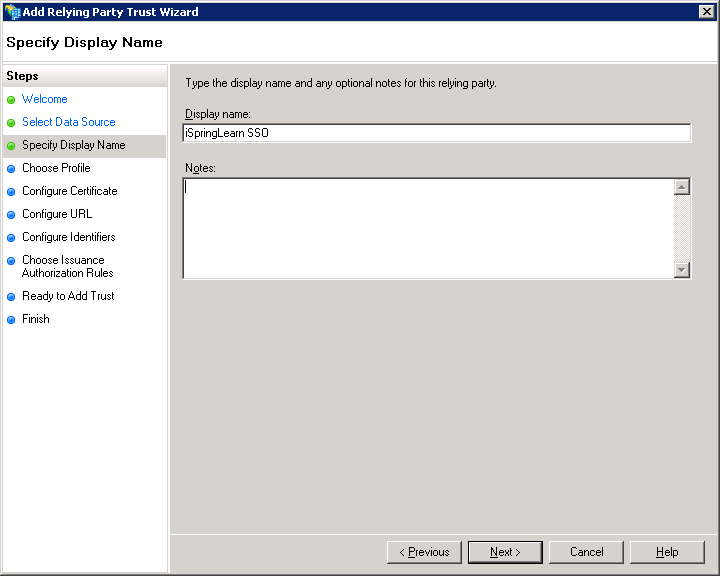 Steps to configure SAML 2 0 SSO with Microsoft Active